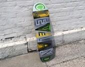 Cleveland Skateboard Wall Art No. 81 by Garrett Weider