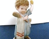 """Memories of Yesterday-Enesco- """"Good Morning From One Cheery Soul to Another"""" Figurine-Porcelain-"""