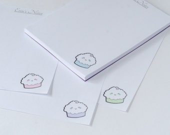 Custom Personalized Cupcake Note Pad