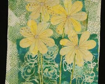 Handmade Art Quilt - Sweet