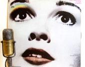 "Judy Garland Vinyl Record Album 1950's Mid-Century Stage & Screen Vocals Easy Listening ""A Star Is Born"" (1976 CBS w/The Man That Got Away"")"