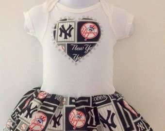 NY Yankee  Inspired Dress
