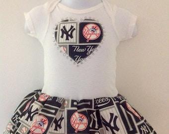 NY Yankee  Inspired Dress