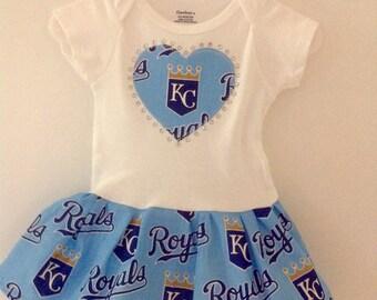 Kansas City Royals Inspired Dress