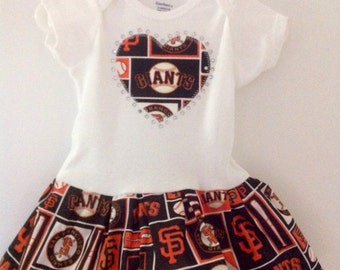 San Fransisco Giants Inspired Dress