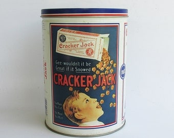 Cracker Jack Decorative Tin - Limited Edition Reproduction
