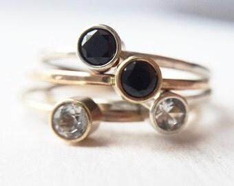 Tiny Sparkler Ring