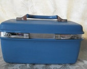 Vintage Samsonite Montbello ll Train Case Luggage with Key  USA ONLY