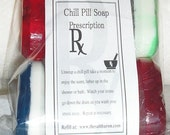 Chill Pill and Prescription Soap10 pack, Gag gift, fun, DIY party Favors, Medical, pharmacy, Novelty soap