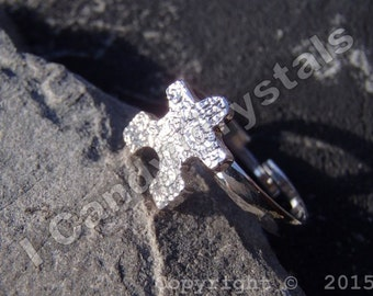 Puzzle Ring Autism Awareness Adjustable