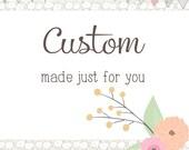 Custom Order - FINAL PAYMENT