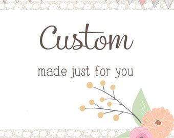 Custom Order - HOLDING DEPOSIT