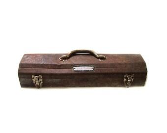 70s Craftsman Socket Tool Box - Storage and Organization - Industrial Loft Decor