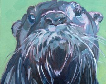 Gramm the Otter Portrait