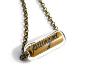 Kate Bush Necklace Bronze - CONFETTI - Ninth Wave Ltd Ed - Etsy uk