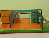 Reserved For Echev001 Fisher Price Little People #909 Play Family Play Rooms 1971 Rare HTF