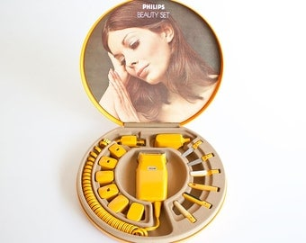 Vintage 1970s Philips Beauty Set