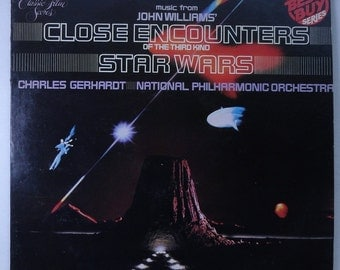 """Rare Music from """"Star Wars"""" and """"Close Encounters of the Third Kind"""" Vinyl Soundtrack (1978) - Very Good Condition"""