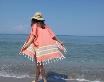 Beach Cover Up Kaftan Kimono Swim Suit Beach Wrap Cruise Caftan Resort Wear Boho Kimono