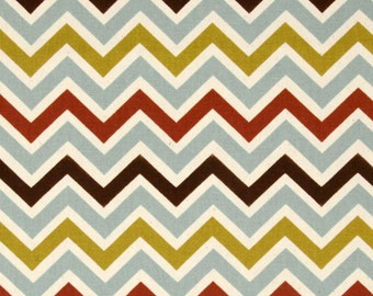 Premier Prints Zoom Zoom Village/Natural Twill Fabric