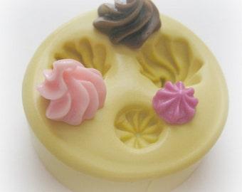 Frosting Mini Cupcake Mold Fake Kawaii Food Sweets Deco Cute Miniature Food Moulds