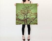Women's Art Silk Scarf Modern Fall fine art photography Fashion
