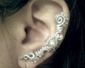 Ice Blade Ear Cuff no piercing required ear wrap