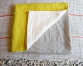 as seen on remodelista: the simone washed linen beach towel
