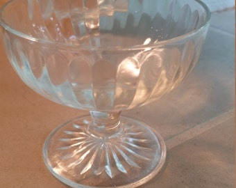 Vintage Sorbet Dessert Dishes - Set of 10 Kitchen Home Dining Ice Cream Dishes - SALE ITEMS
