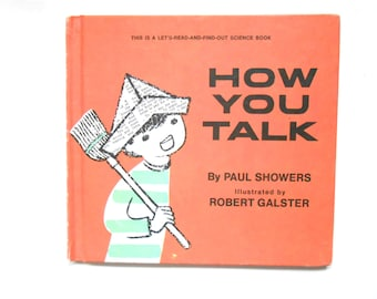 How You Talk, a Vintage Children's Book by Paul Showers