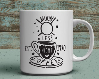 moonless night coffee company twin peaks themed fandom 11 oz mug