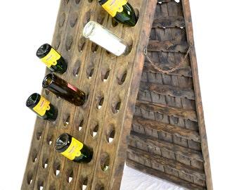 VINTAGE - French Wine Bottle Riddling Racks - 100% Authentic