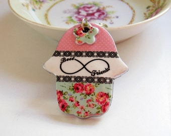 Hamsa keychain, Hand of fatima key chain, Personalized gift, handbag charms , evil eye key chain, hamsa bag charm, judaica, Infinity symbol