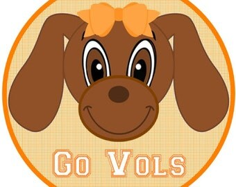 Smokey Tennessee Go Vols Iron On