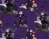 Nightmare Before Christmas Jack Skeleton Fabric Covered Photo Memory Board