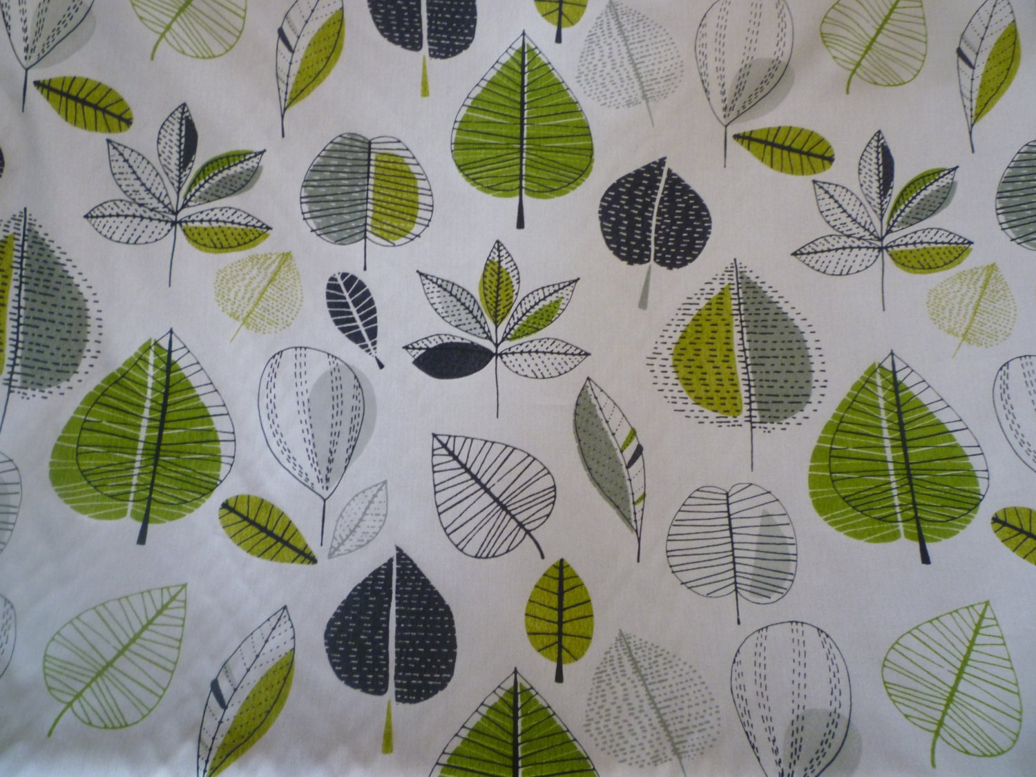 60 90 Curtain Panel Lime Green Grey Valance Floral