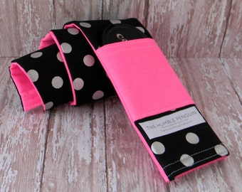 Pink Camera Strap Cover, Black Camera Strap Cover, Camera Strap Cover, Camera Strap, Camera Strap Sleeve, Lens Cap, Lens Cap Pocket, DSLR