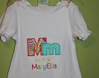 Girls back to school- personalized