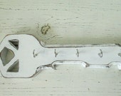 Key Holder Handmade wooden key holder distressed in your choice of colors