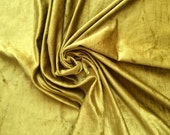 Lemon Grass Cotton Viscose Velvet Fabric By the Yard Upholstery Weight Fabric Commercial Curtain Fabric Fashion Velvet Window Treatment