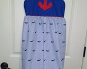 Nautical diaper stacker