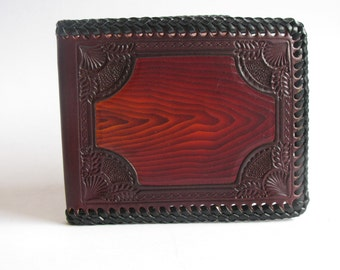 Leather Wallet / Hand Laced / One of a Kind