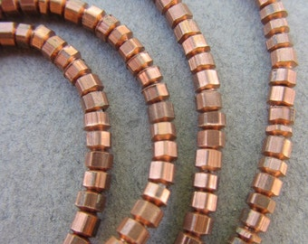 Copper Spacer Beads