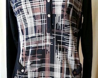70's knit dress/top