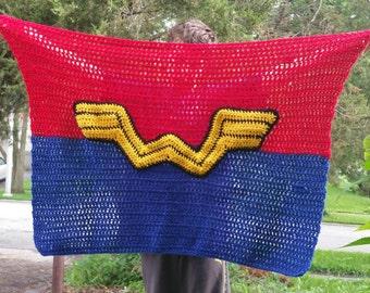 Wonder Woman blanket