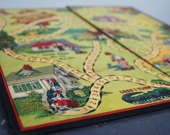 Vintage Board Game Uncle Wiggily's