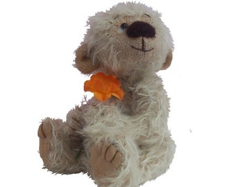 Arnold Bear soft toy sewing pattern