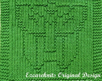 Knitting Cloth Pattern - TRANSFORMER - PDF