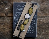 Felt Bookmark - Hand Embroidered Bookmark