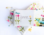 Wedding Clutch Purses, Unique Bridesmaid Gifts, Set of 5, 6, 7, 8, 9 Personalized Bridesmaid Clutches, Floral Bags MADE TO ORDER